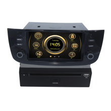 PIP Virtual 6CD carro multimídia para Fiat Linea com GPS / 3G / Bluetooth / TV / IPOD / RDS