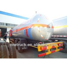 JIEFANG 10.5MT lpg tanker, lpg entrega petroleiro, gás camião-cisterna
