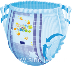 Disposable Semi-Servo Pull Up Baby Diaper making equipment