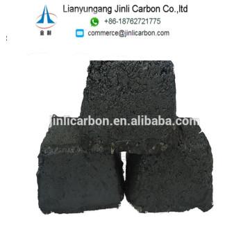 Cendre de 3% d'électrode de carbone de carbone pour le carbure de calcium et le ferroalliage