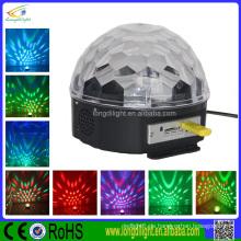 IR-Steuerung u. USB führte Kristallmagiekugel-Stadiumslicht / geführte Kristallkugel
