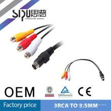 SIPUO hdmi usb video 3.5mm para conectar el cable mini usb al adaptador de jack de 3,5 mm
