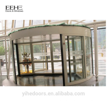 Comercial Glas Eingang Drehtüren