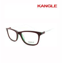 Qualität schöne Verkäufer Azetat optische Rahmen und deutsche Brillen Brillen