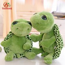 Natal atacado coreano bonito olhos grandes de pelúcia mar tartarugas animais boneca longa perna mini tartaruga macia brinquedos de pelúcia