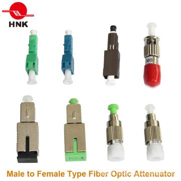 FC / Sc / St / LC / Mu одномодовый многомодовый мужской и женский фикс-оптический аттенюатор