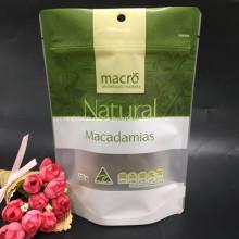 Natürliche Nuts Plastiktüte Mit Fenster