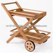 Juego de muebles de jardín / exterior de madera maciza - Troly