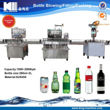 Small Capacity Linear Type Water Filling Line