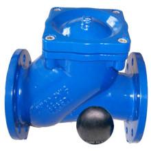 Válvula de retención de bola de hierro dúctil