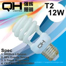 Energy Saving Lamp/CFL lampe 12W 2700K / 6500K E27/B22