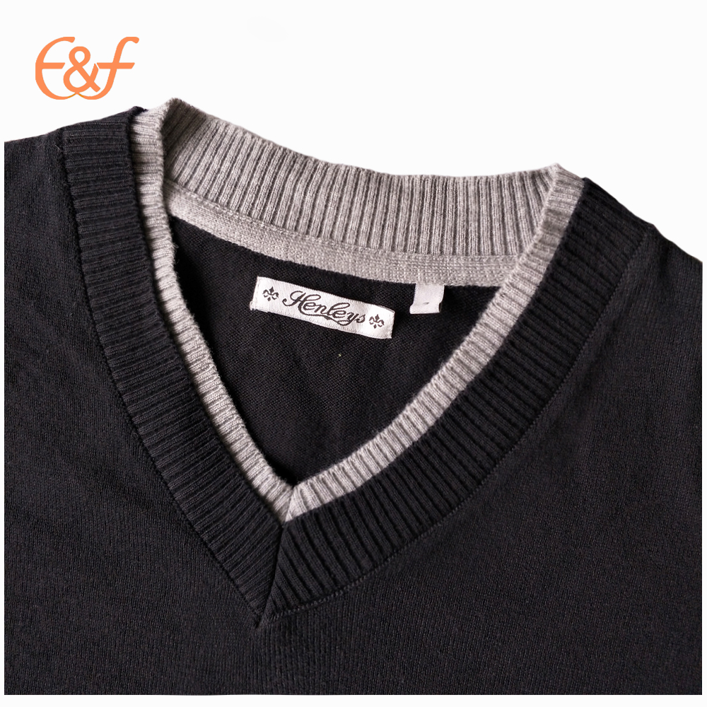 Pullover V-neck Sweater Design