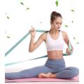 Langes Yoga-Widerstandsband aus Polyester-Baumwolle und Latex
