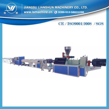 Máquina de fabricação de plástico PVC na China