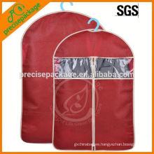 Bolso de empaquetado de la ropa del diseño simple Bolso de la ropa a prueba de polvo