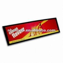 3D logo custom bar drip mat