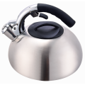 Welded bottom metal handle whistling kettle kitchen choice