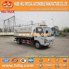 Japan technology 4x2 4000L sewage flushing truck 120hp engine good quality