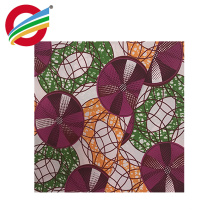 newest design african cotton wax fabric