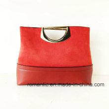 Bolsos al por mayor del ante de la falsificación de la PU del diseñador de moda (NMDK-051503)
