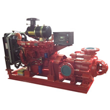 Multistage Fire Fighting Water Pump with Diesel Engine
