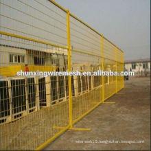 Alibaba China PVC coated temporary fence