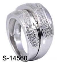 Мода обручальное кольцо с Micro Pave CZ (S-14560. JPG)