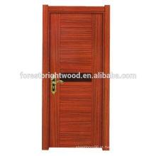 Simples porta de madeira melamina design moderno