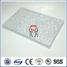 Zhongding ISO SGS CE aprobado sólida hoja de policarbonato en relieve
