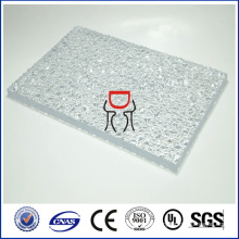 Zhongding ISO SGS CE approved solid embossed polycarbonate sheet