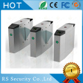 Hotel Bi-Direction Wing Turnstiles Retractable Flap Barrier