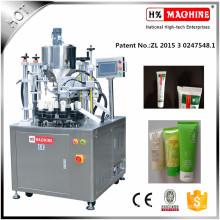 Hazelnut Paste Tube Filling And Sealing Machine
