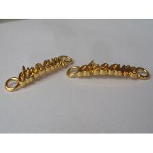 dream letters gold color fancy pendant designs for girls