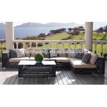 Patio wicker sofa sets furniture outdoor rattan sofa