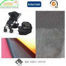 O PVC revestiu a tela de Oxford 500d para o carrinho de criança de bebê com o Azo livre