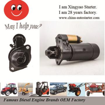2.2kw 12V 3m 12teeth Pinion Farm Machine Starter Parts