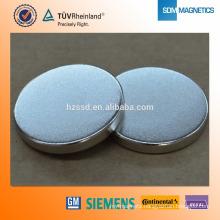N35 Sintered Disc Neodymium Tourist Magnet for Souvenir