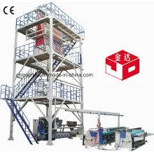 HDPE ABA 3 capas Co-extrusión de la máquina de película soplado