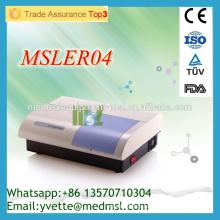 Le lecteur de microplaques MSLER04M pour ELISA Elisa Microplate Reader fonctionne avec un ordinateur externe, facile à utiliser