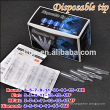 2015 newest transparent Sterilized disposable tattoo tube in Wholesale price