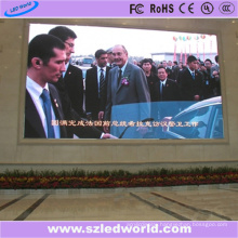 Large LED Video Wall P8 Outside Wall Mounted