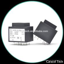 Transformador EI33 encapsulado de 12v a 240v CC