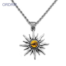 Kalung Stainless Steel Mens Evil Eye Necklace