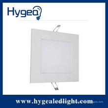 18W haute luminosité plat led panneau carré lumière