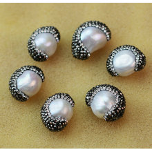 Meilleur bijoux baroque Pearl Crystal Gemstone Jewelry Accessory