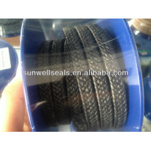 Pure Graphite PTFE Packing with oil