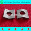 cable de alta calidad, montaje, placa de yugo galvanizada