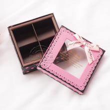 Custom-Made Chocolate Box with PVC Window and Tray