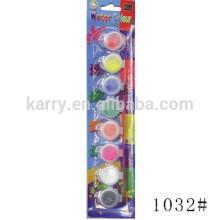 8 Pots Strip Water Color (5ml / pot) - Emballage sous blister