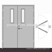 Passageway aisle Double swing Steel Door
